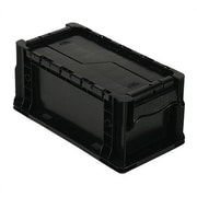Quantum Heavy Straight Wall Stacking Storage Container with Attached Lid