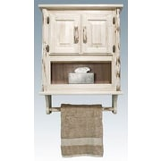 Montana Woodworks  Montana 30'' x 40'' Wall Mounted Cabinet; Ready To Finish