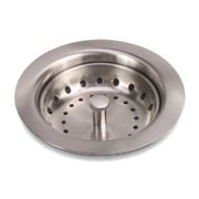 Premier Faucet Kitchen Sink Strainer; Brushed Nickel
