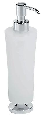 Artos Silaro Vetrilite Free Standing Soap Dispenser; Chrome WYF078276428493