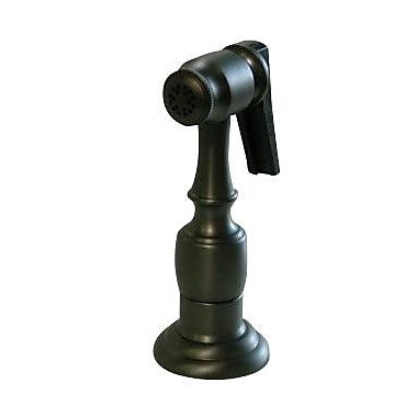 Elements of Design Brass Kitchen Side Sprayer w/ Hose; Oil Rubbed Bronze