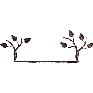 Quiescence Aspen Wall Mounted Towel Bar; Brown