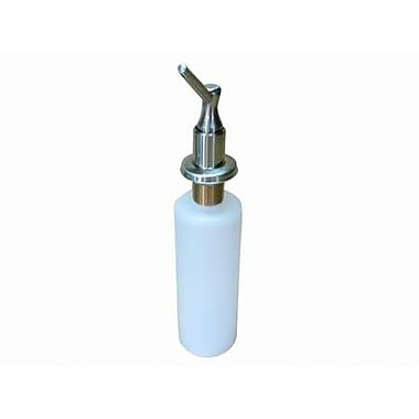 Elements of Design Decorative Soap Dispenser; Satin Nickel