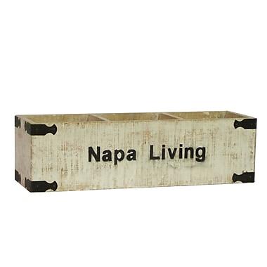 Antique Revival Napa Living Rectangular Planter Box