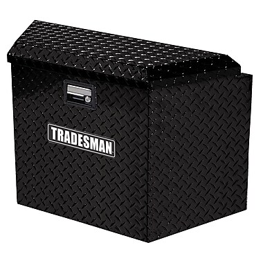 Lund Inc. Trailer Tongue Truck Box; Black