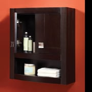 DecoLav Gavin 23'' x 26'' Wall Mounted Cabinet; Espresso