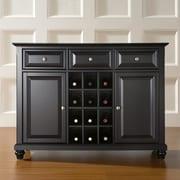 Crosley Cambridge Sideboard / Buffet; Black