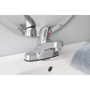 Premier Faucet Westlake Single Handle Bathroom Faucet with Brass Pop Up; PVD Brushed Nickel