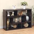 Hokku Designs Clive 22'' Bookcase (Set of 2); Warm Red Cocoa