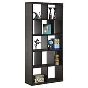 Hokku Designs Zac 71'' Bookcase; Black