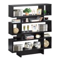 Hokku Designs Celio 53'' Bookcase; Black