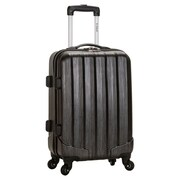 Rockland Melbourne 20'' Rolling Carry On; Carbon