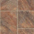 Armstrong Castilian Block 8mm Tile Laminate in Puesta del Sol