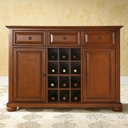 Crosley Alexandria Sideboard / Buffet; Classic Cherry