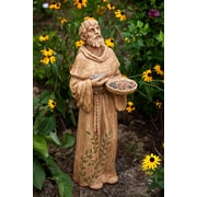 Evergreen Enterprises, Inc St Francis Statuary Glimpses of God Decorative Bird Feeder