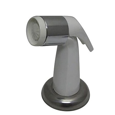 Kingston Brass Made to Match Gourmetier Kitchen Faucet Sprayer; White
