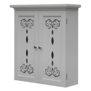 Elegant Home Fashions Dallia 22.5'' X 25'' Wall Mounted Cabinet