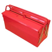Excel Cantilever Portable Tool Box w/ 5 Trays; Red