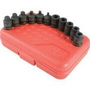 Sunex Skt 3/8 Dr Pipe Plug 11Pc Set
