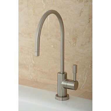 Kingston Brass Concord Gourmetier Water Filtration Kitchen Faucet; Satin Nickel