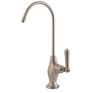 Kingston Brass Magellan Turn Water Filtration Faucet; Satin Nickel