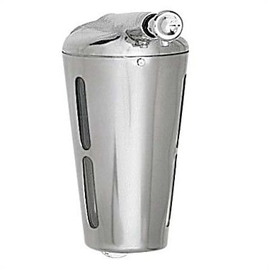 American Specialties Simplicity Surface Mounted Stainless Steel Soap Dispenser; Lather