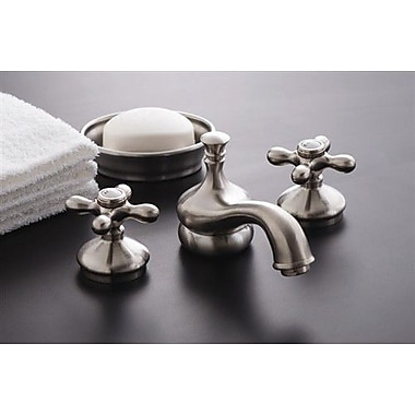 Strom Plumbing by Sign of the Crab Sacramento Widespread Bathroom Faucet w/ Pop-Up Drain; Chrome