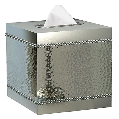 NU Steel Hudson Boutique Tissue Box Cover