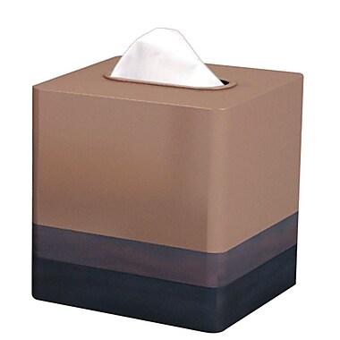 NU Steel Triune Tissue Box Cover; Copper
