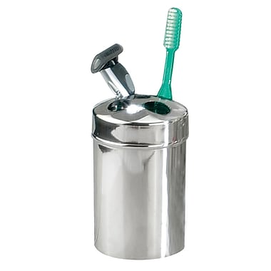 NU Steel Gloss Toothbrush Holder