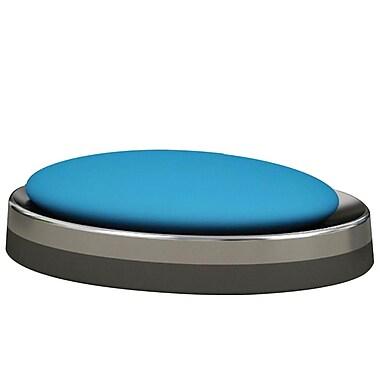 NU Steel Triune Soap Dish; Platinum