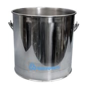 Geerpres Stainless Steel 8 Gallon Round Mop Bucket without Casters