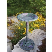 Oakland Living Vineyard Bird Bath; Verdi Purple