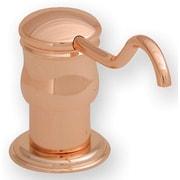 Whitehaus Collection Vintage III Solid Brass 2'' Soap Dispenser; Antique Brass