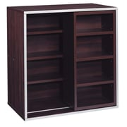 OIA Quadrant Sliding 30'' Cube Bookcase