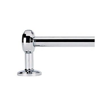 Alno Aria Wall Mounted Towel Bar; Satin Nickel