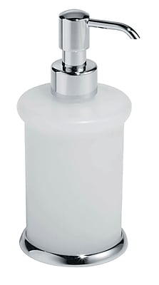 Artos Lulay Vetrilite Free Standing Soap Dispenser; Chrome WYF078276338338