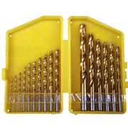 MorrisProducts 16'' Piece Titanium Coated Drill Bit Set