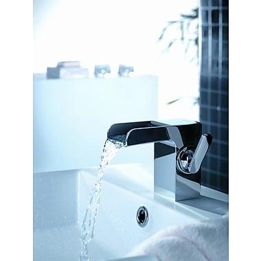 Artos Kascade Single Hole Waterfall Bathroom Sink Faucet w/ Single Handle; Chrome