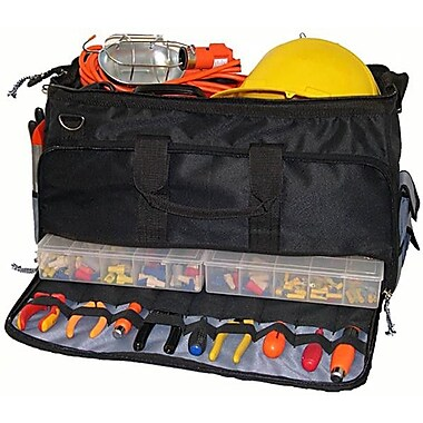 Morris Products Large Easy Search Tool Bag w/ Plastic Tray
