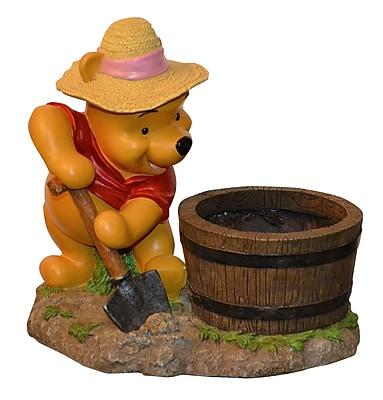 Woods International Disney Winnie the Pooh Novelty Statue Planter WYF078276289242