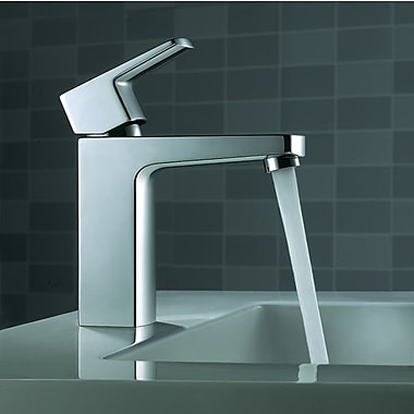 Artos Safire Single Hole Bathroom Faucet w/ Single Handle; Brushed Nickel