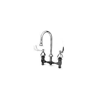 T&S Brass Widespread Medical Bathroom Faucet w/ Double Handles