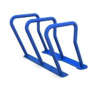Frost 6 Bike Freestanding Bike Rack; Blue by