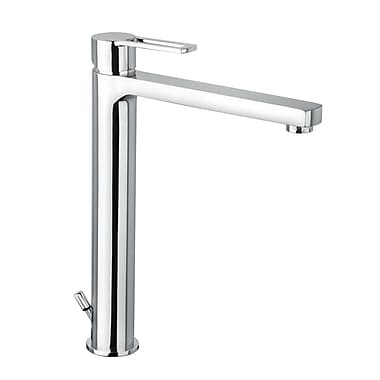 WS Bath Collections Ringo Single Hole Bathroom Faucet w/ Single Handle