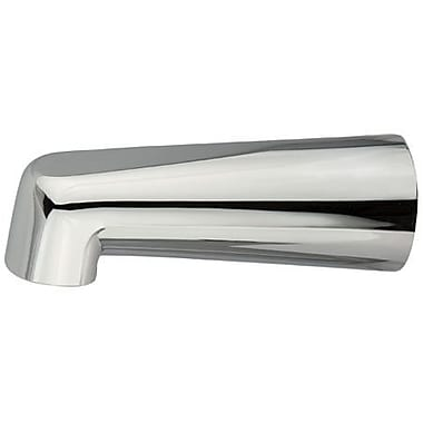 Elements of Design Wall Mount Tub Spout Made to Match 7'' Zinc Trim; Polished Chrome
