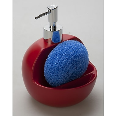 Jovi Home Lily Two-in-One Sink Soap Dispenser