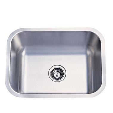 Elements of Design 23'' x 17.75'' x 9'' Undermount Single Bowl Kitchen Sink