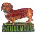 Stupell Industries Dachshund Decorative Dog Door Stop