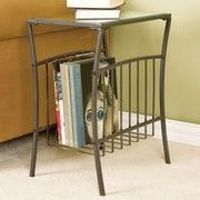 Wildon Home   Hermitage End Table with Magazine Storage